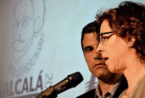 Javier Rodríguez Palacios y María Aranguren