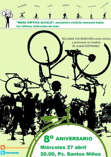 Bicicrítica en Alcalá