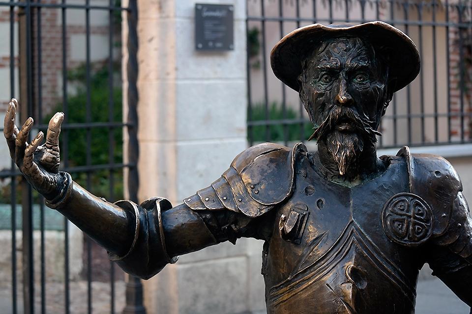 La mirada de Don Quijote