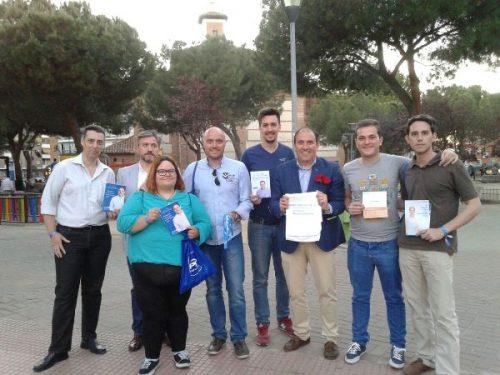 Foto que ilustra la información en Diario de Alcalá, sin firma y probablemente cedida por el PP local