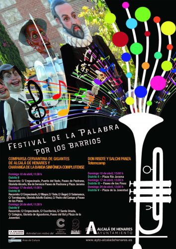 Festival de la Palabra por Barrios