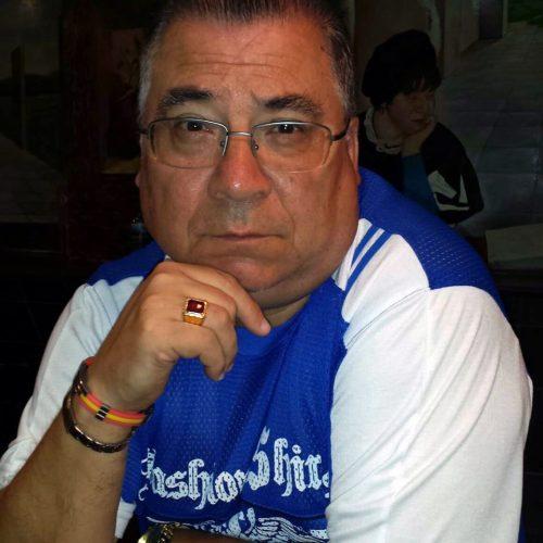 Luis Gozález en una foto de su perfil en Facebook