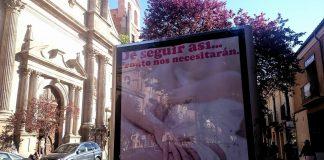 Mupis en la calle Libreros de Alcalá