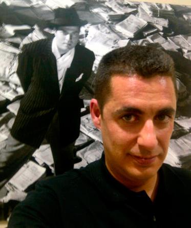 Antonio Naranjo, director de Diario de Alcalá