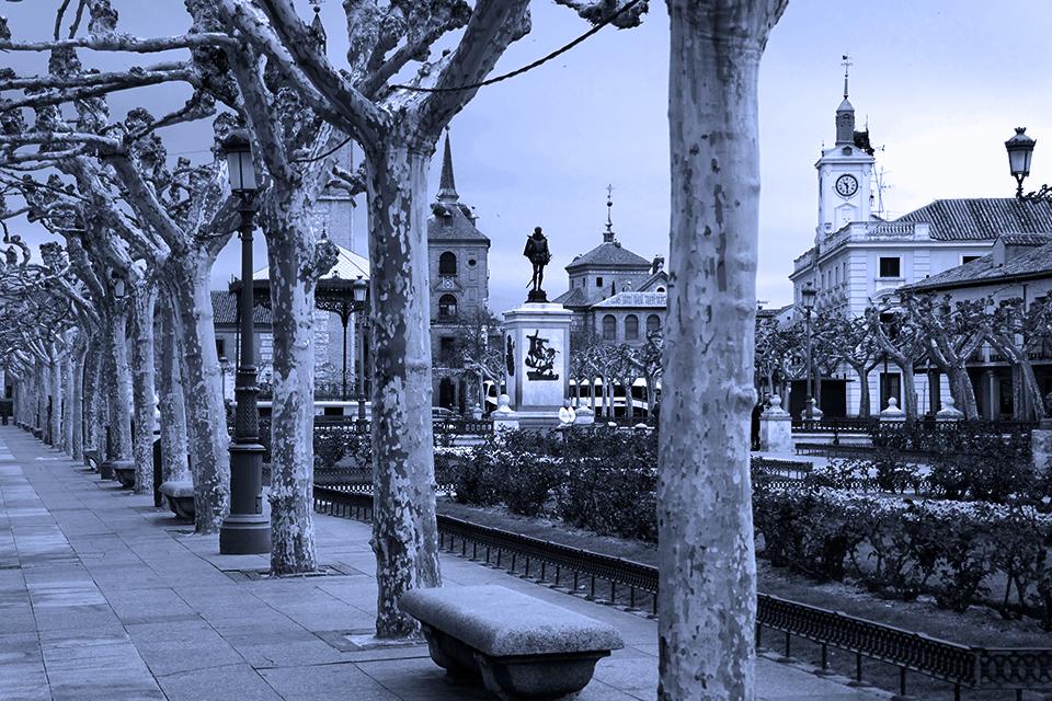 Primeras horas en la Plaza de Cervantes