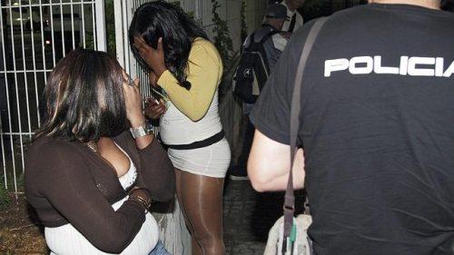 Red nigeriana de prostitución