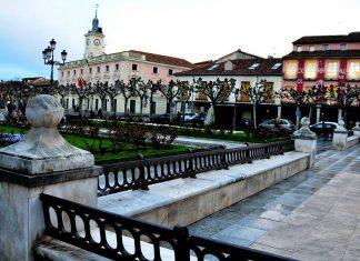 La plaza mojada