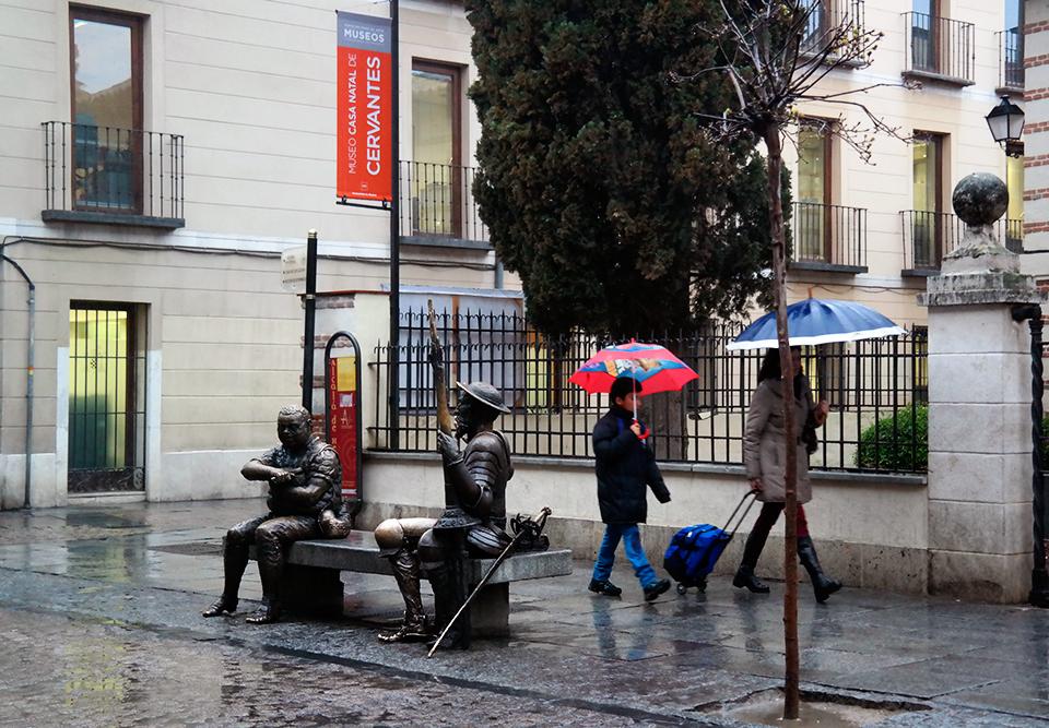 Dias de lluvia en Alcalá de Henares