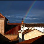 Arco Iris de Mayo en la ciudad patrimonio