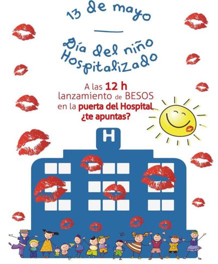 Cartel del Dia del Niño Hospitalizado