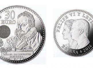 Moneda de Cervantes