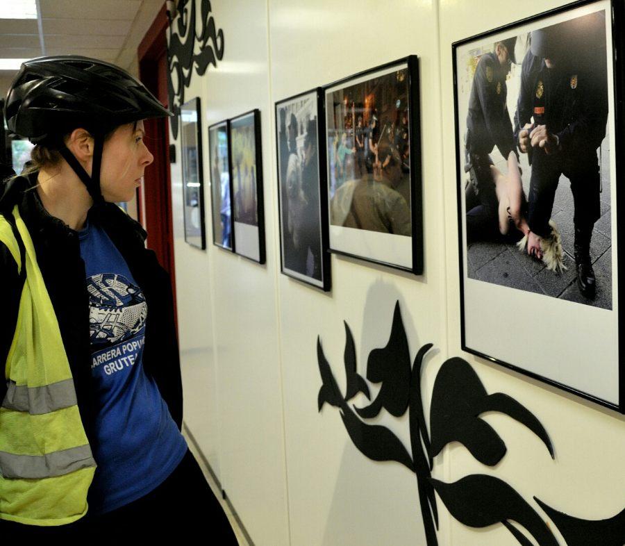 Crónica de la exposición que ha alarmado al portavoz de C´s en Alcalá. Foto de Ricardo Espinosa Ibeas