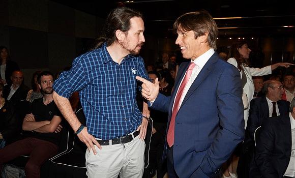 El Cordobés junto a Pablo Iglesias