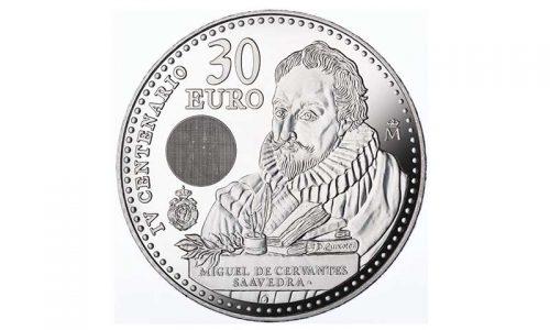 La moneda de Cervantes