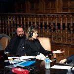 Alcalá respondió a Pepa Fernández, que llena el Paraninfo