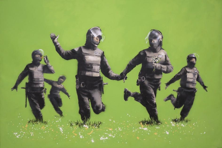 Beanfield (2009) de Banksy