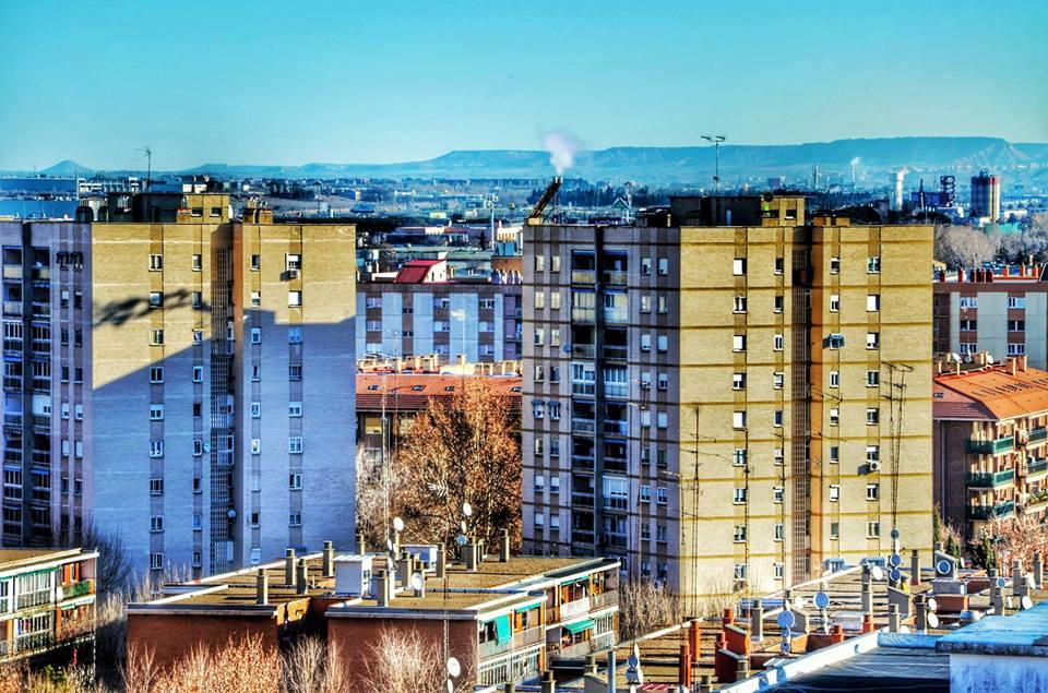 Viviendas en Alcalá de Henares. Foto de Ricardo Espinosa Ibeas