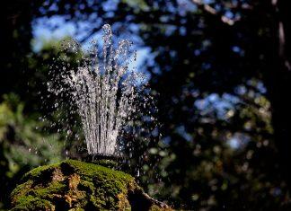 Fuente en el parque O´Donnell