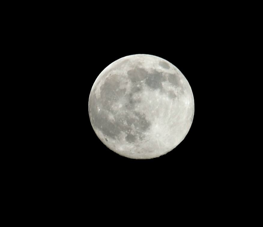 Luna llena del solsticio de verano desde Alcalá