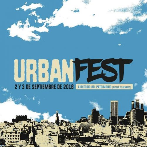 Cartel oficial de Urban-Fest La Muralla