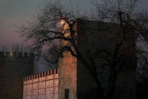 Nocturna de las Murallas en otoño. Foto de Pedro Enrique Andarelli ( archivo de ALCALÁ HOY )