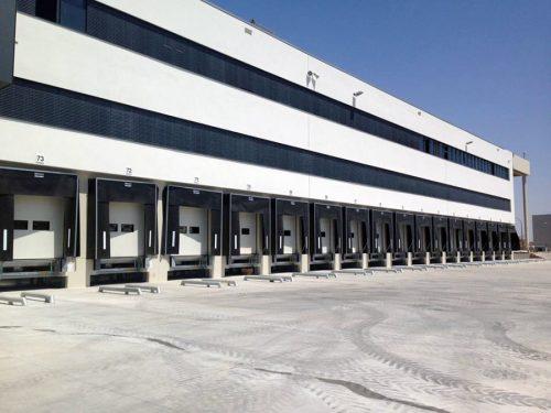 Vista exterior de las nuevas instalaciones de Lidl en Alcalá