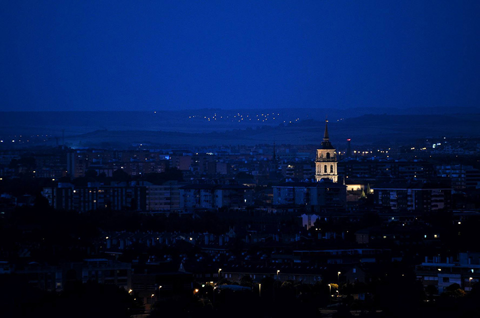 Noche de agosto en Alcalá