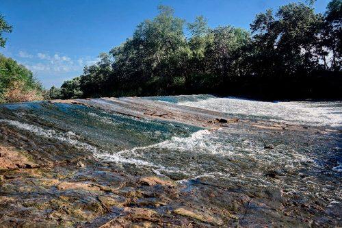El rio Henares en el verano de 2016. Foto de Pedro Enrique Andarelli