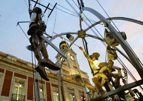 """""""El maravilloso mundo de Miguel de Cervantes Saavedra"""" será la temática del desfile de Carrozas este año cervantino. Foto cedida por el ayuntamiento."""