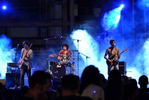 Los ritmos más trepidantes del Rock esencial de los alcalaínos Wizzard y Royal Flash en los conciertos de La Paloma. Foto de Ricardo Espinosa Ibeas