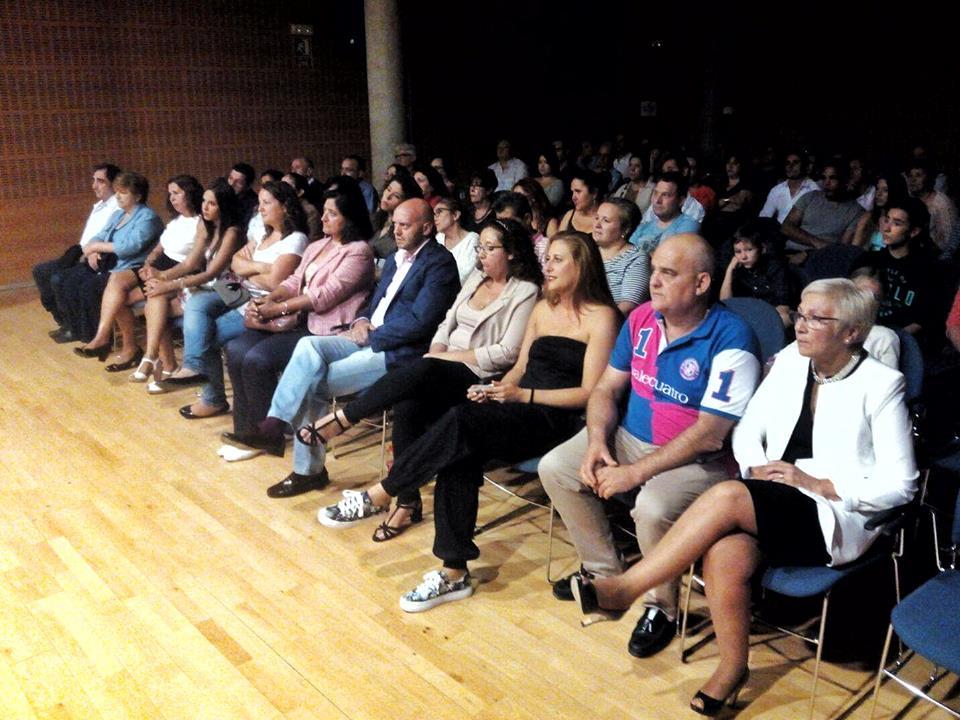Salón de actos de la Junta del Distrito IV. Foto remitida