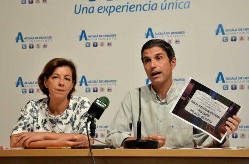 """Miguel Ángel Lezcano, portavoz de Ciudadanos. """"Nos dice que no hay transparencia cuando no ha ido ni una vez a la Junta de Gobierno para mirar los pliegos de condiciones"""", dijo Rodríguez. Foto de Ricardo Espinosa Ibeas"""