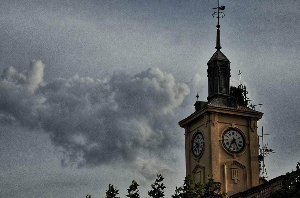 Nublados vespertinos de septiembre