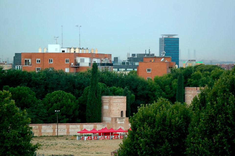 Torres y murallas de Alcalá