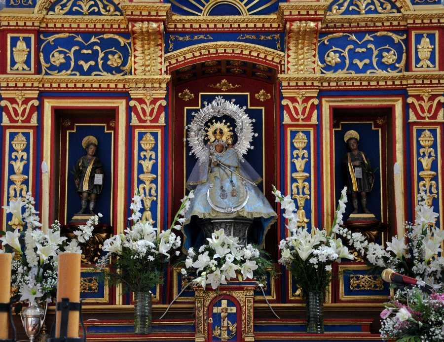 La Virgen del Val en su ermita