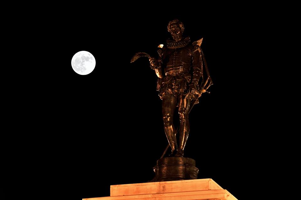 La superluna del año Cervantes