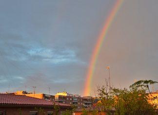 Arco Iris de una tarde de otoño