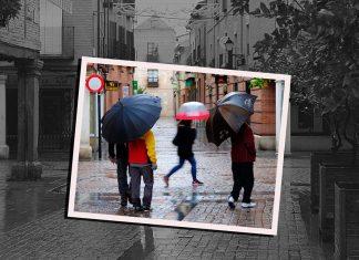 Sábado de paraguas