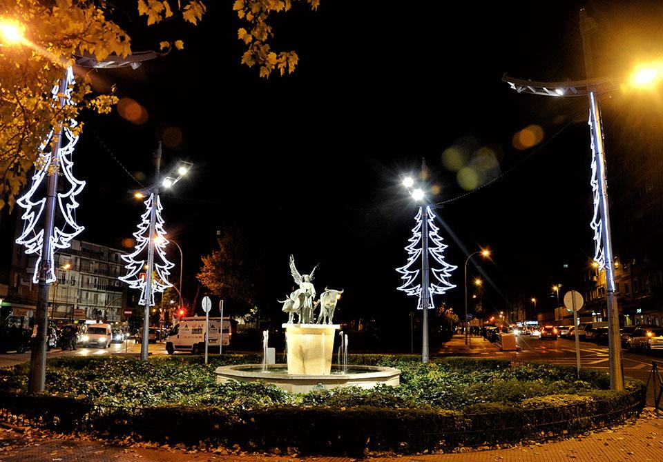 Navidad en la Plaza de San Isidro