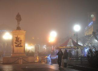 La niebla de la Navidad