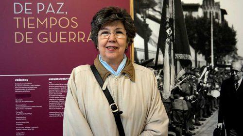 Maria José Navarro, sobrina nieta de Manuel Azaña en una imagen de archivo de Pedro Enrique Andarelli