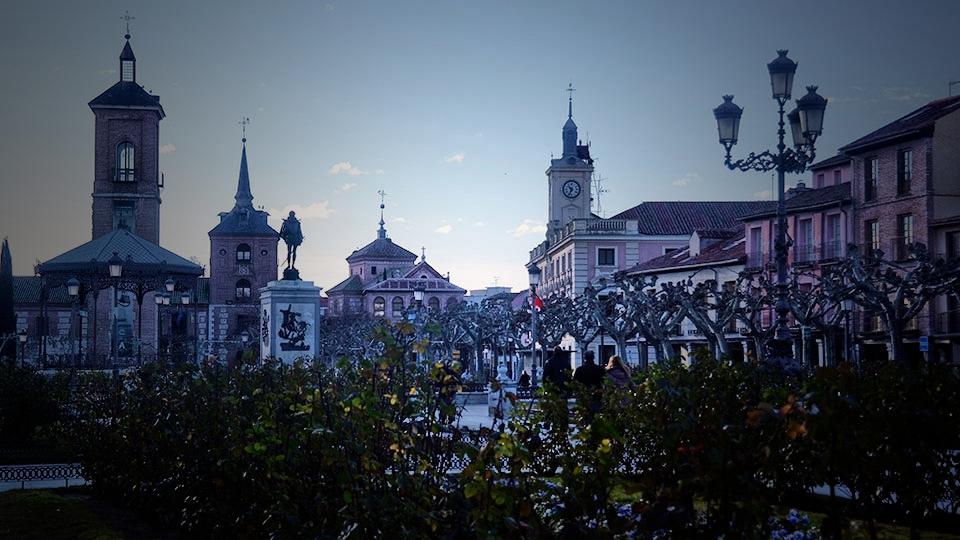 La Plaza de Cervantes tras la Navidad