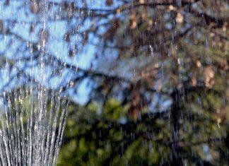 Fuente en el parque O'Donnell