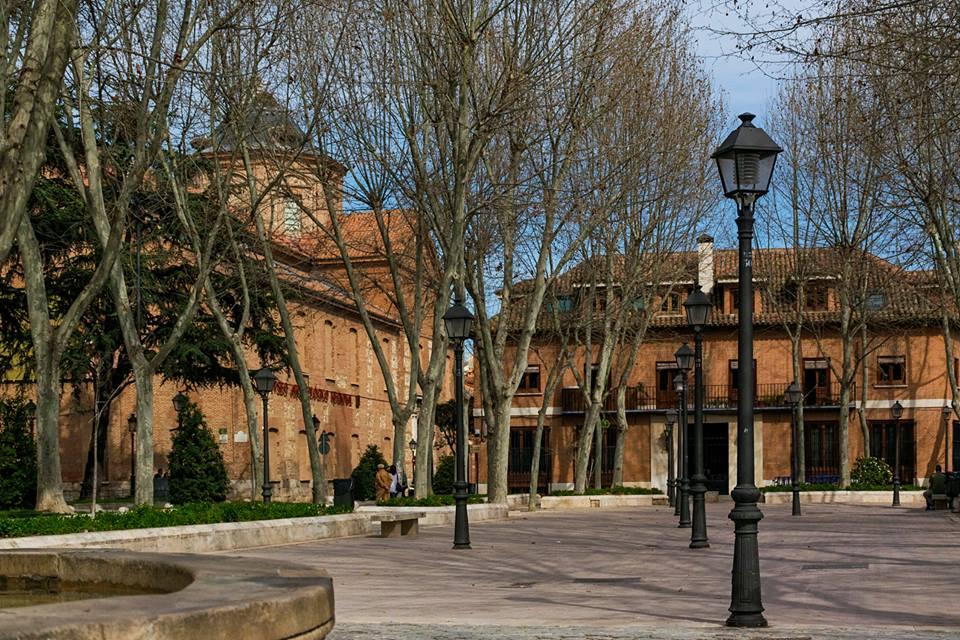 Plaza de Palacio en marzo 2017