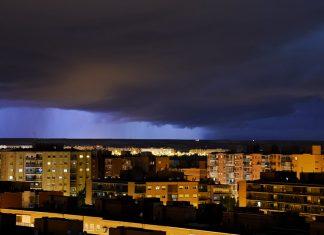 Tormenta sobre Alcalá