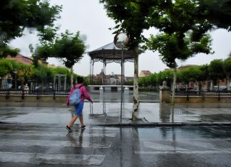 Borrascas de julio en Alcalá