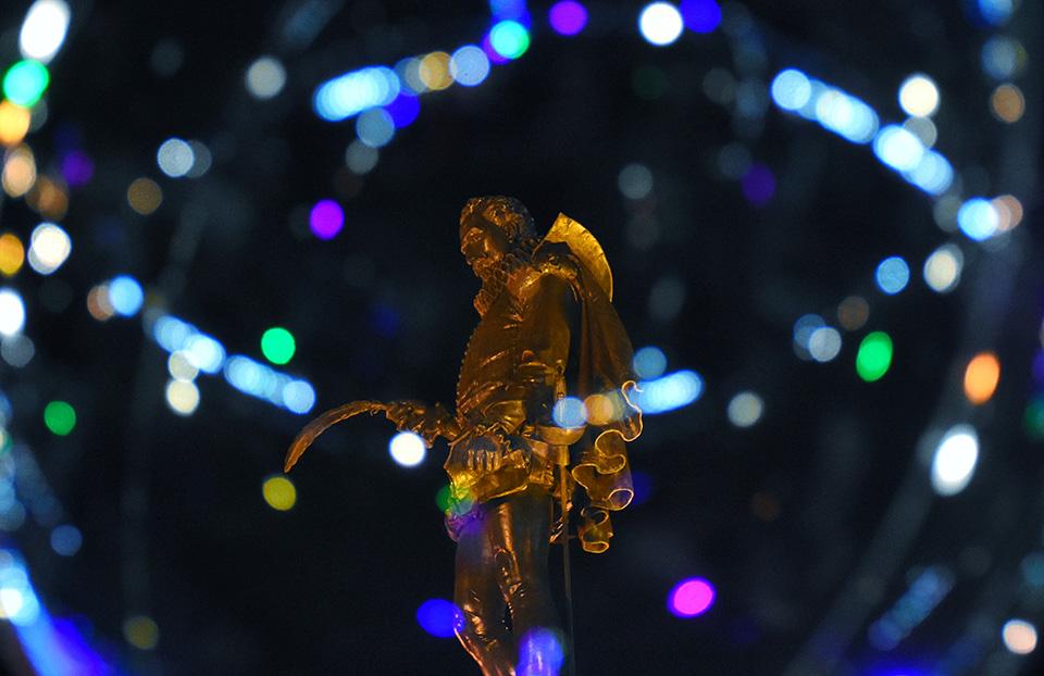 La Navidad envuelve a Cervantes en Alcalá