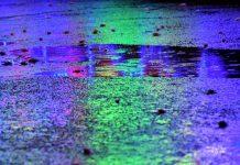 Momento lluvia y caramelos en Alcalá. Cabalgata de Reyes