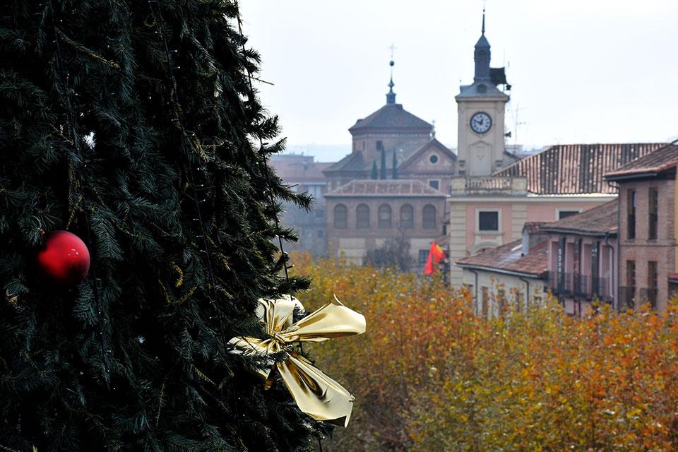 La ciudad de la Navidad desde la noria