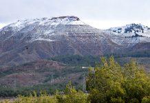 Las primeras nieves del año desde el Gurugú